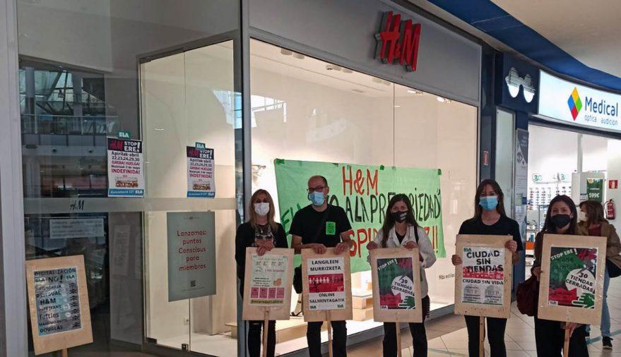 h&m huelga indefinida