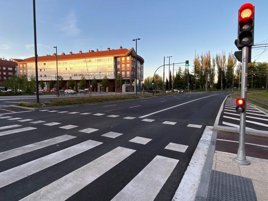 paso peatones estación bus vitoria