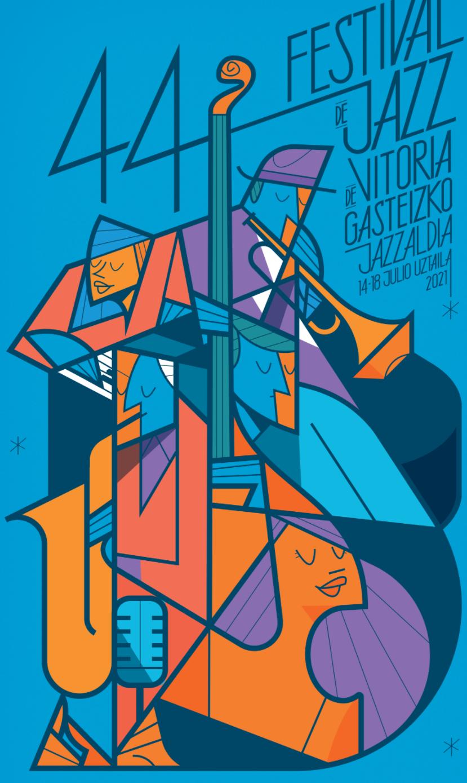 cartel festival jazz vitoria