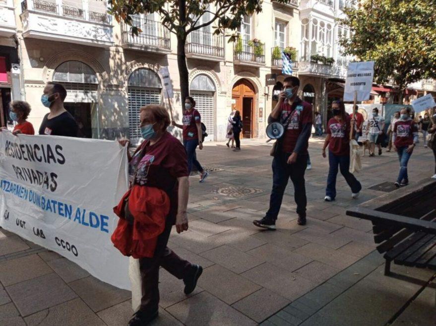 huelga residencias