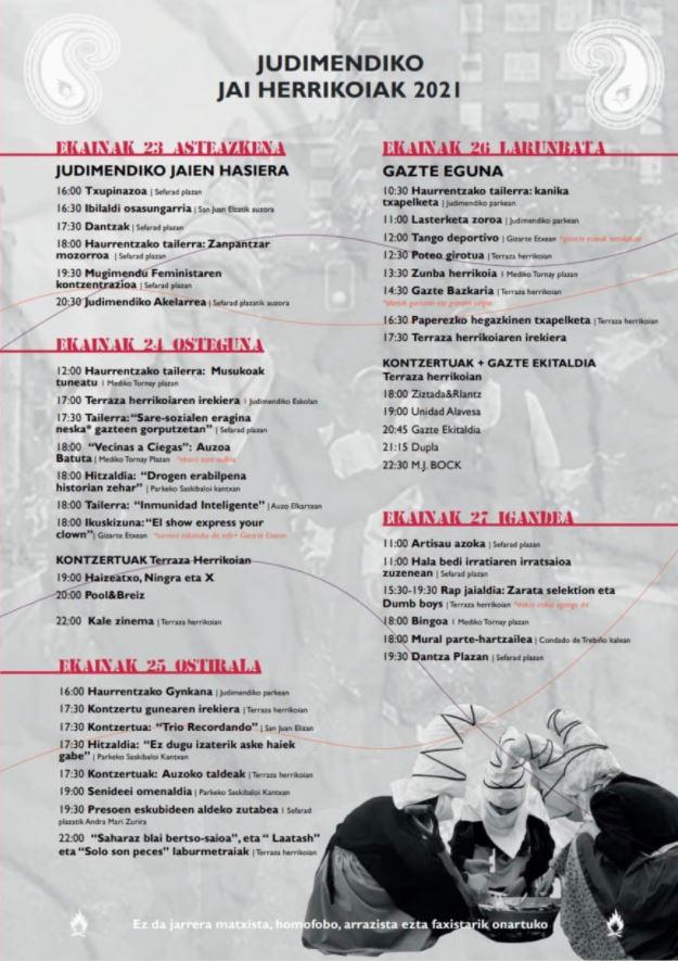 programa fiestas judimendi 2021