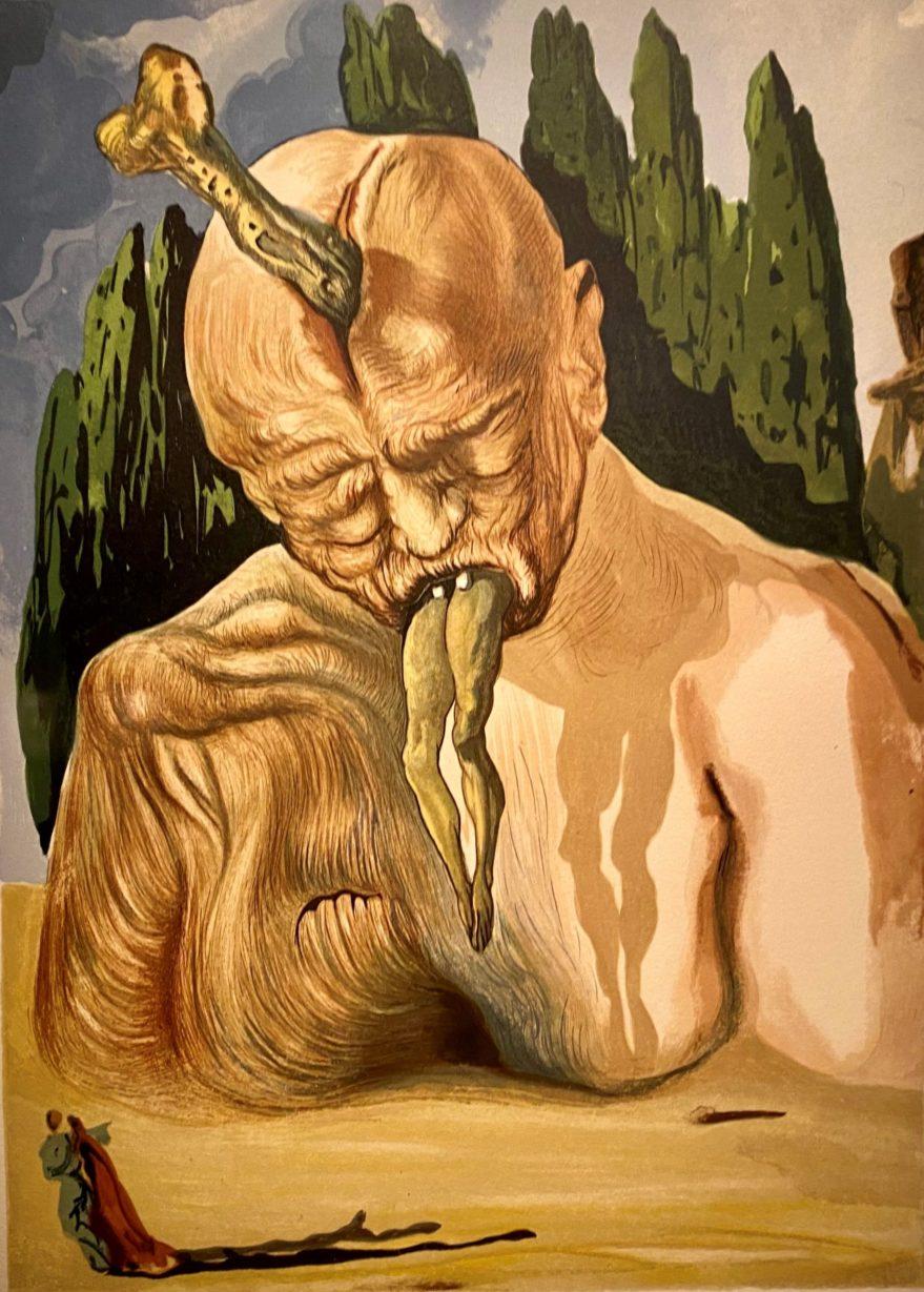"""Exposición """"Dalí, año Dantesco"""""""