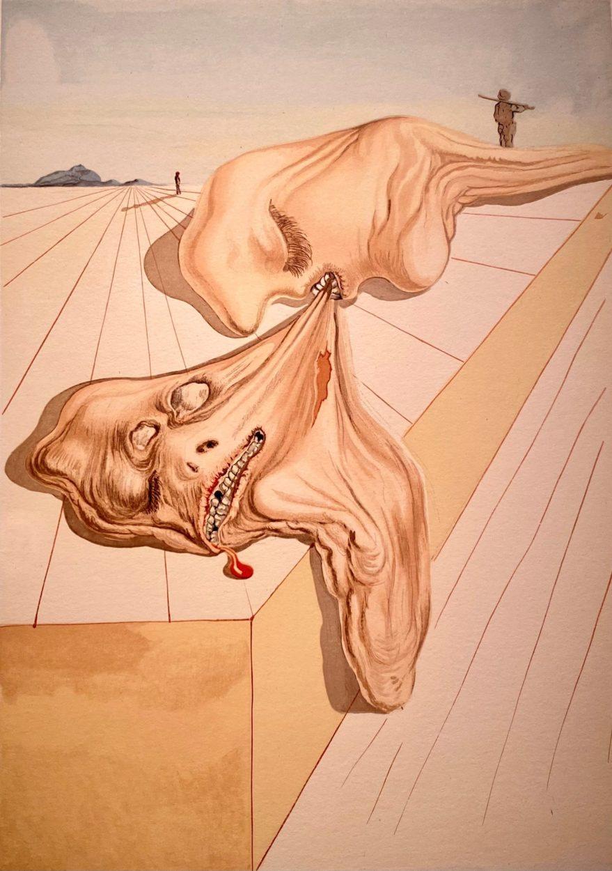 """Exposición """"Dalí Año Dantesco"""""""