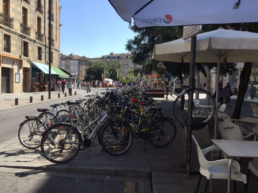 bici basura calle prado