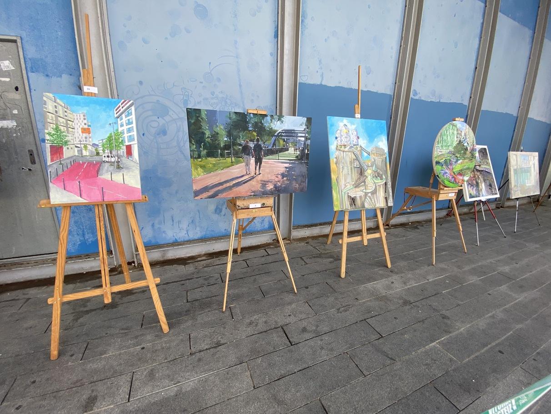 concurso pintura aire libre zabalgana