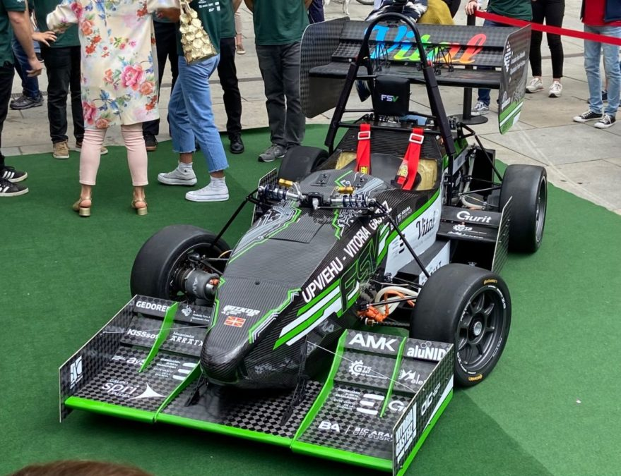 Fórmula Student Eléctrico vitoria