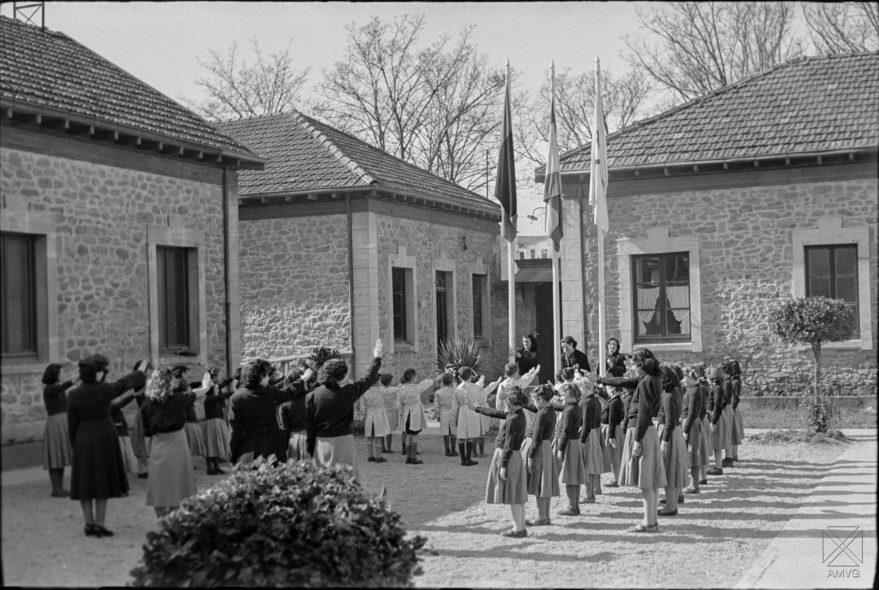 Imagen del antiguo preventorio en 1949. Parra. AMVG.