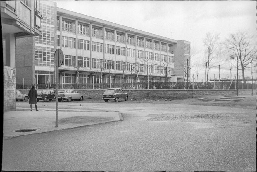Colegio de Judimendi en 1970. ARQUÉ. AMVG.