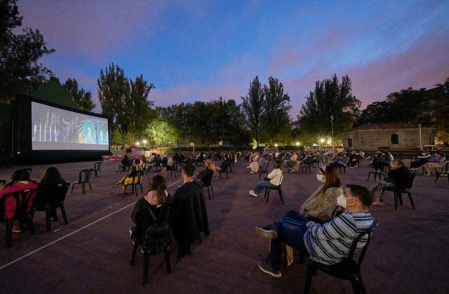 Cine aire libre verano Parque del Norte