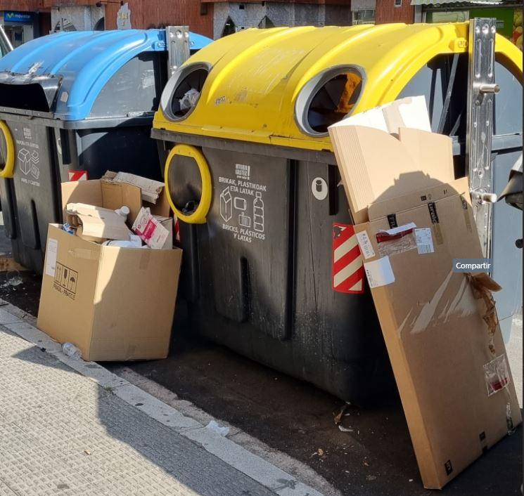 basura contenedores beato
