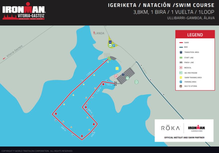 circuito natacion ironman vitoria 2021