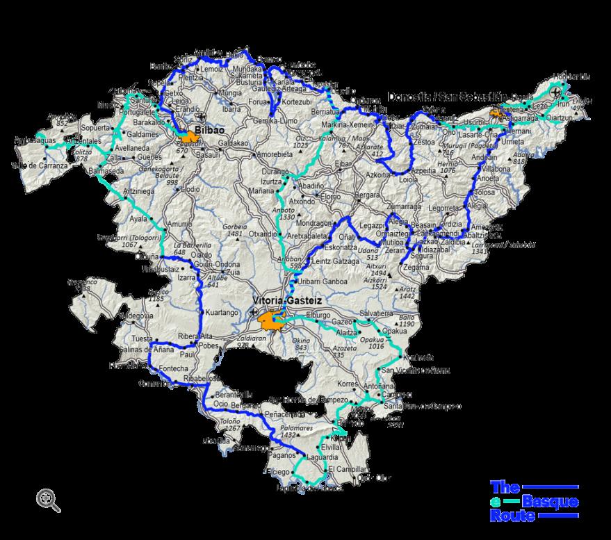mapa e-Basque