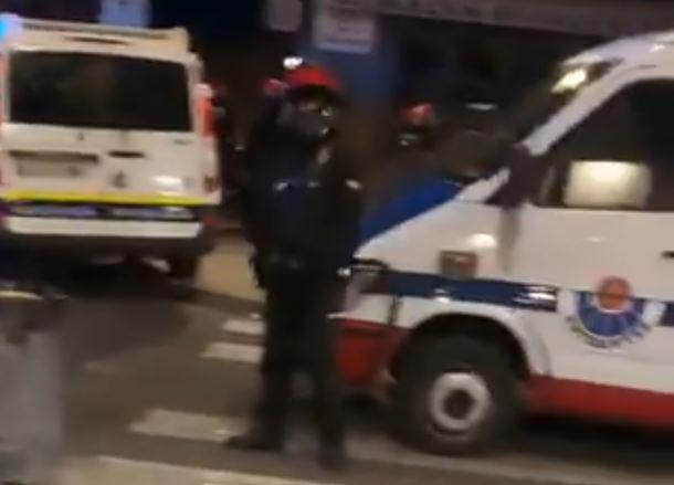 presencia policial portal del rey nueva fuera