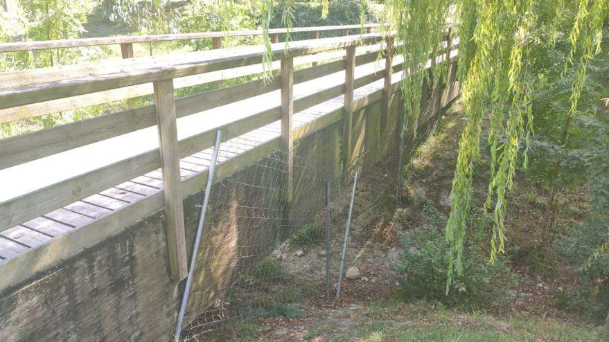 vallas puente paseo páganos