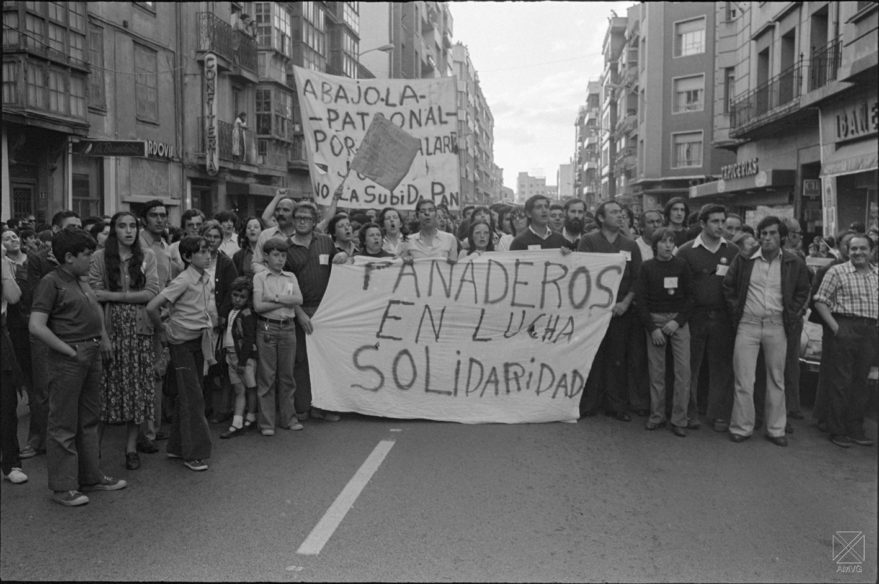 Huelga de panaderos Vitoria