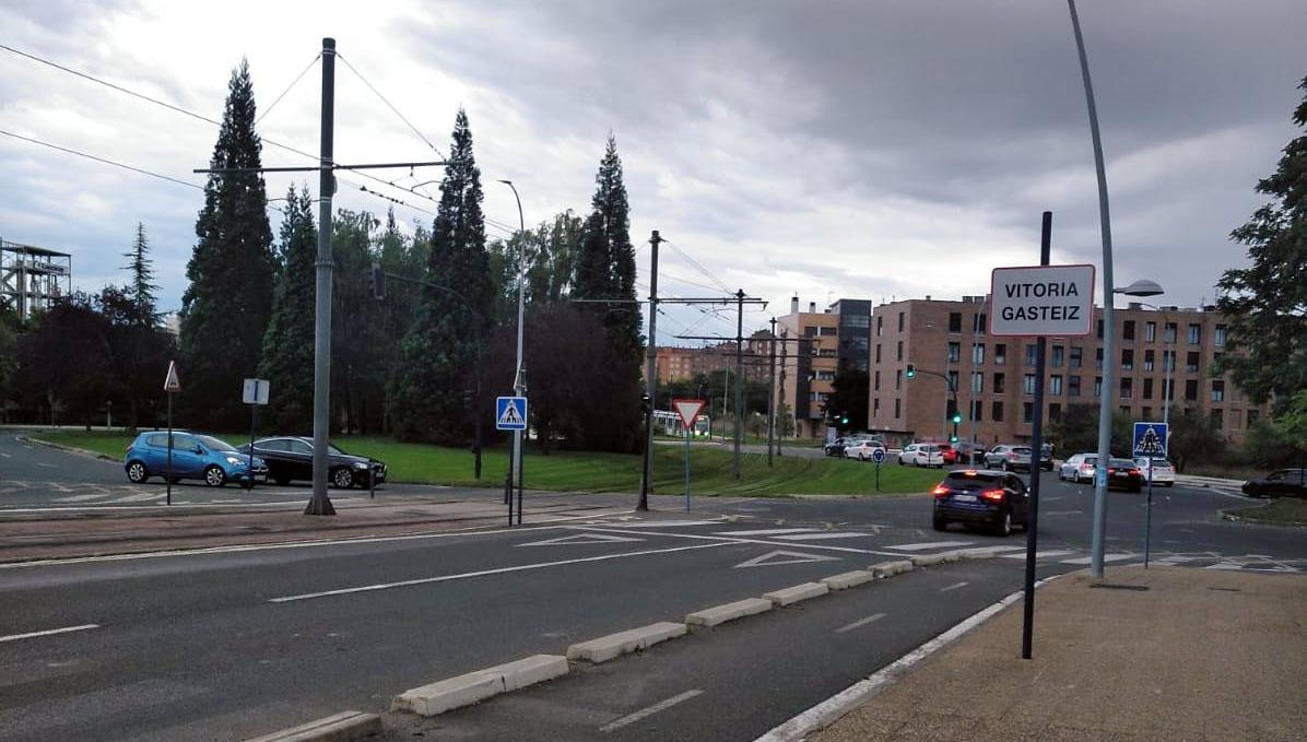 Abetxuko señal Vitoria Gasteiz