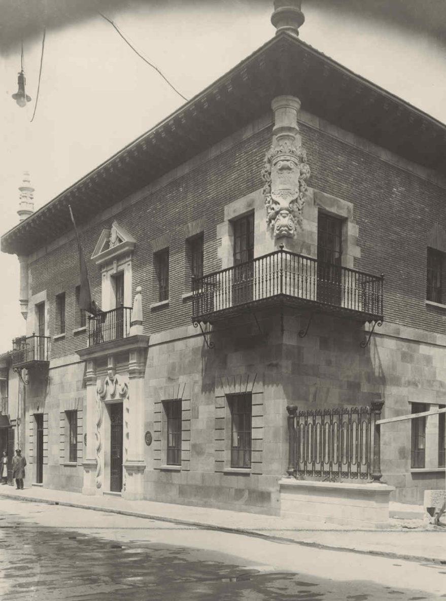 Central telefónica de General Álava en 1931. Fondo Fundación Telefónica.