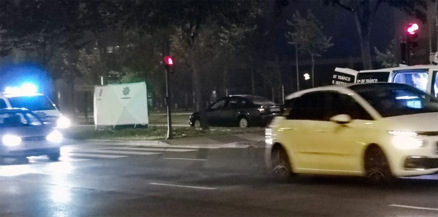 accidente el boulevard zaramaga