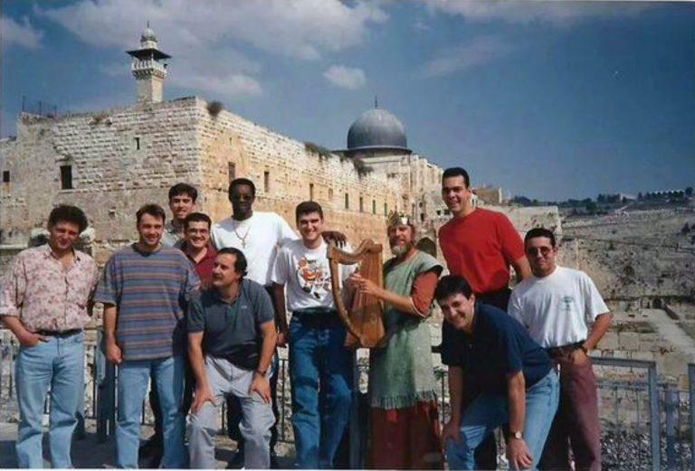 Viaje a Jerusalén en la temporada 94/95