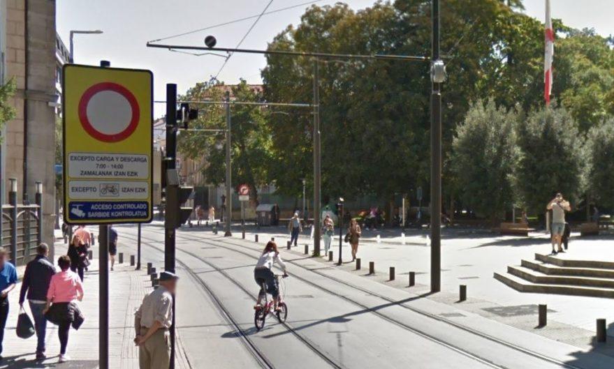 calles peatonales zona de bajas emisiones