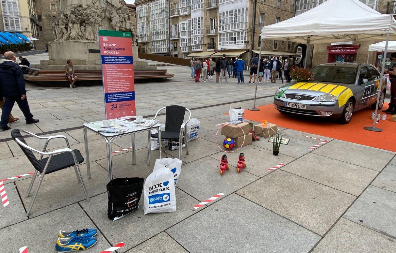 coche vitoria aparcado semana movilidad sostenible