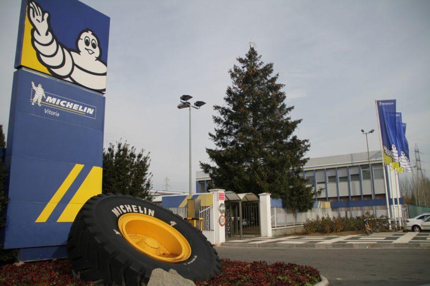 parada producción Michelin Vitoria