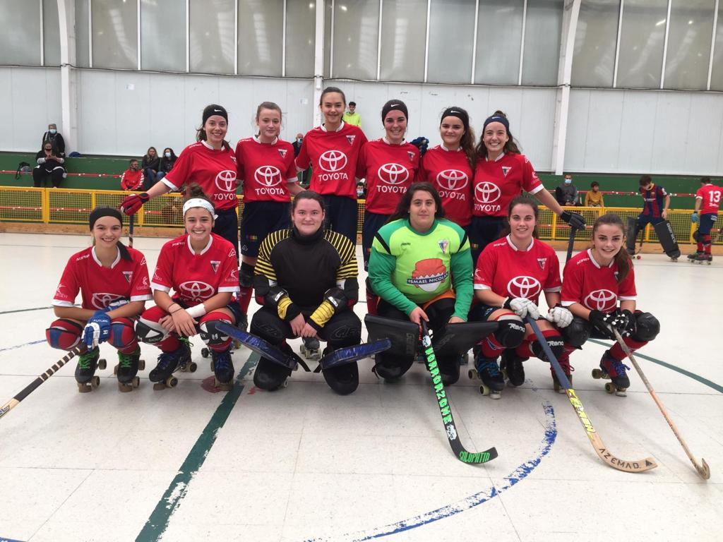aurrera hockey patines equipo