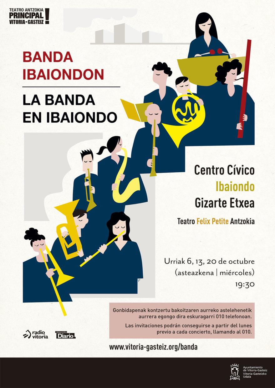 concierto banda municipal Ibaiondo